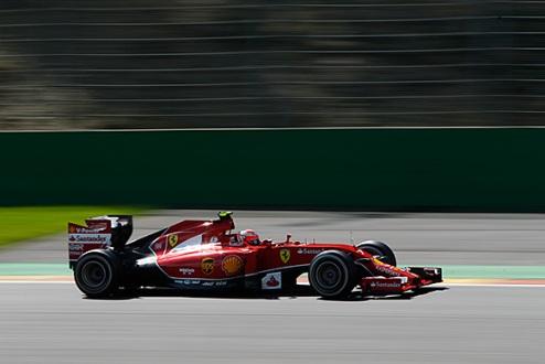"""Формула-1. Райкконен: """"Первая спокойная гонка в сезоне"""""""