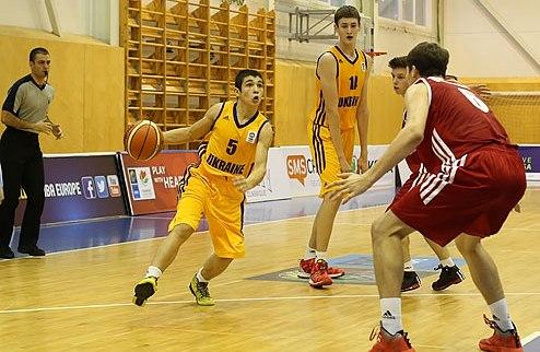 Евробаскет U-16. Украина переиграла Данию