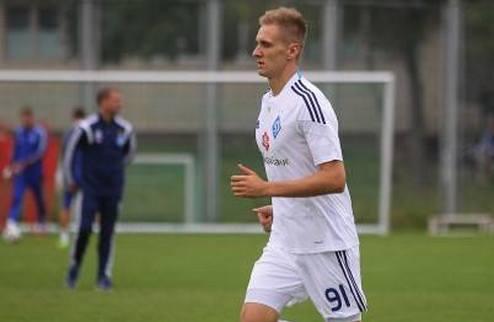 Теодорчик провел первую тренировку в Динамо