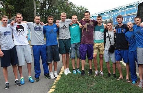Днепр провел два успешных спарринга в Литве