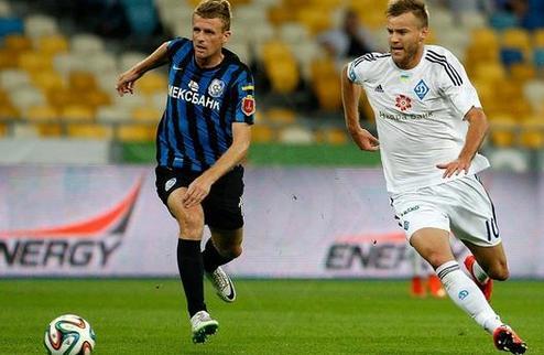 Динамо уверенно расправилось с Черноморцем