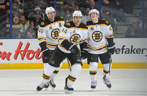НХЛ. Бостон: Сайденберг, Макквейд и Келли вернулись к тренировкам