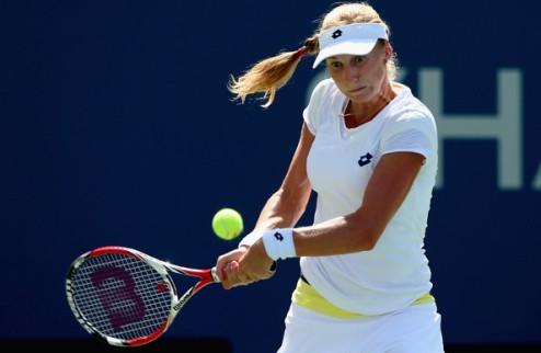 US Open. Макарова выбила Азаренко на пути в полуфинал