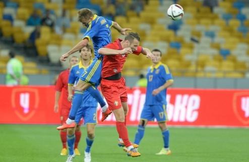 Украина минимально одолела Молдову