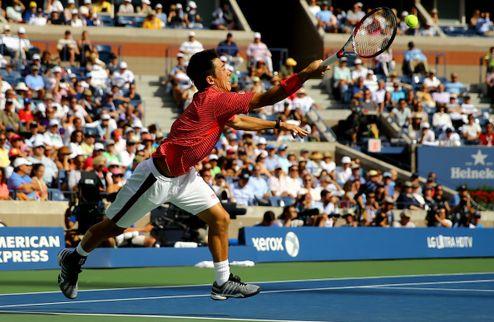 US Open. Нисикори выигрывает матч жизни у Вавринки