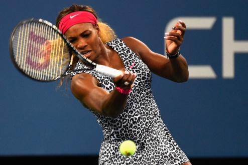 US Open. Серена Уильямс спокойно вышла в полуфинал