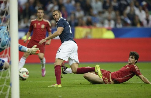 ТМ. Франция справилась с Испанией
