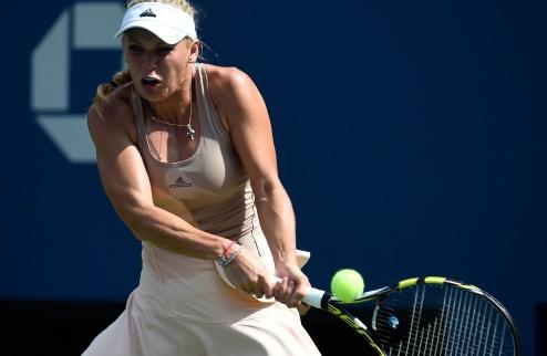 Возняцки драматично пробивается в финал  US Open