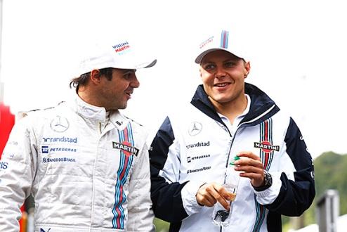 Формула-1. Уильямс: Боттас и Масса останутся в следующем сезоне