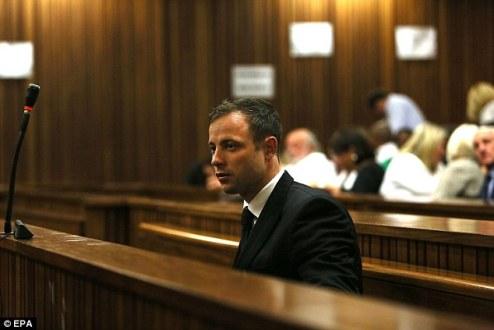 Писториус признан виновным в непредумышленном убийстве