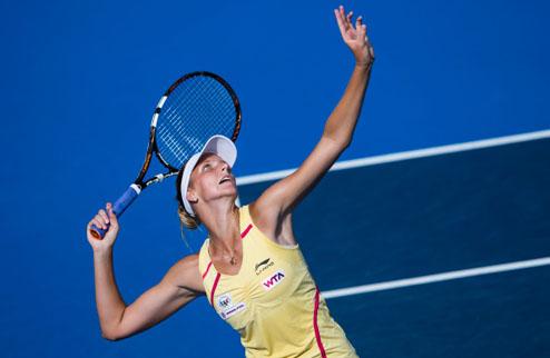 Сеул (WTA). Трудовые победы Плишковой и Лепченко