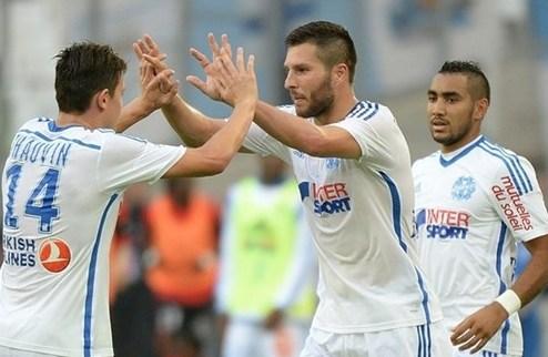 Марсель выходит в лидеры Лиги 1