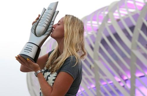 Квитова – четвертая участница Итогового турнира WTA