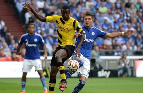 Шальке одолел Дортмунд, Бавария выиграла в Кельне