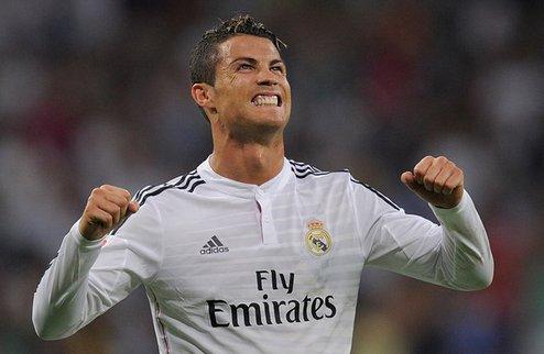Роналду стал третьим бомбардиром Реала в Примере