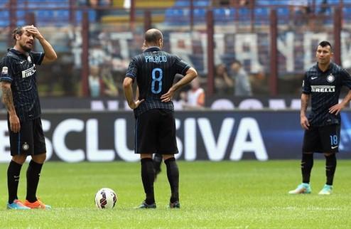 Кальяри разбил Интер в гостях, осечки Милана и Фиорентины