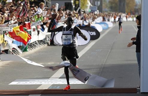 Легкая атлетика. В Берлине побит рекорд марафона