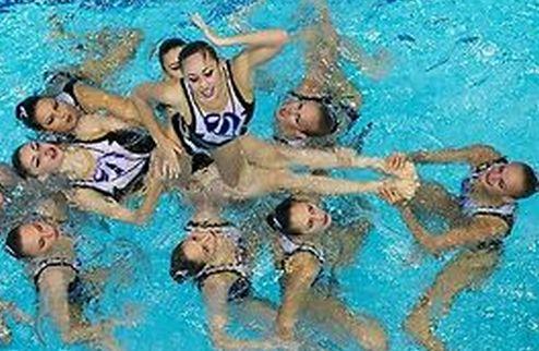 Синхронное плавание. Сборная Украины взяла курс на чемпионат мира
