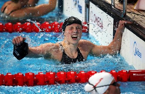 Чемпионат мира по водным видам спорта. Пятое золото Ледеки, рекорд от американцев