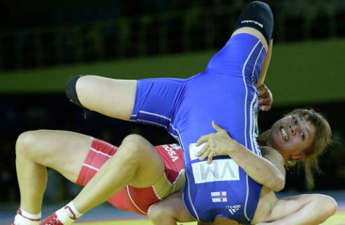 Вольная борьба. Гергель — чемпионка мира!