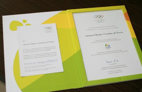 НОК Украины дал согласие на участие в Олимпийских играх
