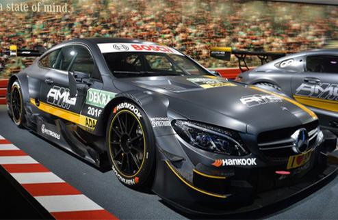 DTM. Новая машина от Mercedes. ФОТО