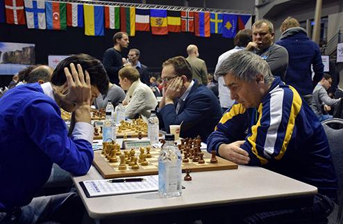 Шахматы. Чемпионат Европы. Украинки вышли на второе место