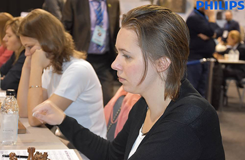 Шахматы. Чемпионат Европы. Украинки гарантировали себе медали