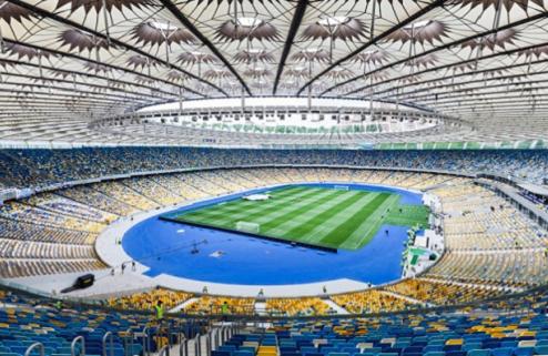 Сборная Украины проведет один матч без зрителей