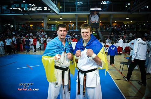 Украинский подиум на чемпионате Европы в Польше