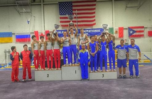 Спортивная гимнастика. Украинцы триумфаторы Кубка Лукина