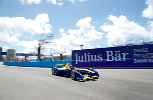 Формула Е. Буэми выиграл гонку в Пунта-дель-Эсте