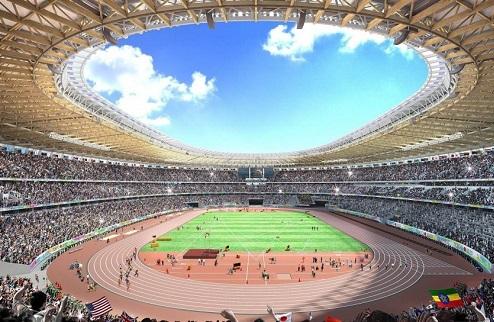 Утвержден проект олимпийского стадиона в Токио. ФОТО