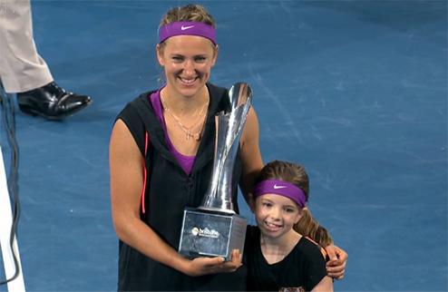 Брисбен (WTA). Азаренко уверенно выиграла турнир