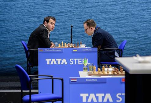 Шахматы. Вейк-ан-Зее. Первая победа украинца