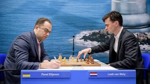 Шахматы. Вейк-ан-Зее. Эльянов снова побеждает!