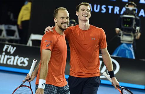 Australian Open. Дж. Маррей и Суарес — триумфаторы турнира в парном разряде
