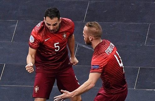Футзал. Евро-2016. Португалия обыграла Словению