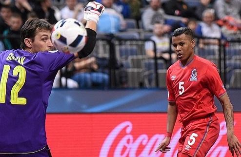 Футзал. Евро-2016. Азербайджан вырывает победу над Чехией