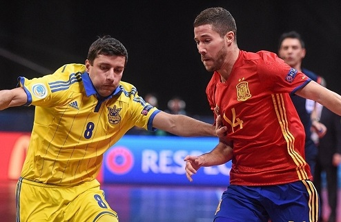 Футзал. Евро 2016. Украина уступает Испании