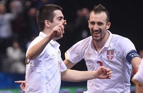 Футзал. Евро 2016. Сербия станет соперником Украины в четвертьфинале