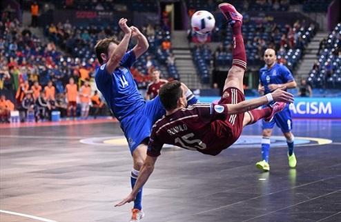 Футзал. Евро 2016. Россия сильнее Азербайджана в четвертьфинале