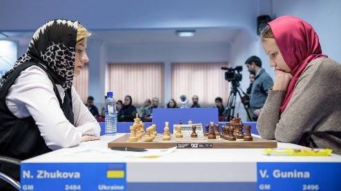 Шахматы. Гран-при ФИДЕ. Жукова стартует с победы над россиянкой