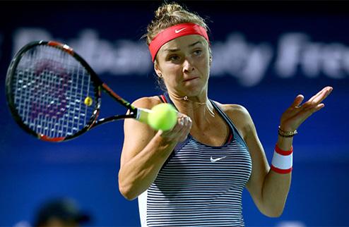 Дубай (WTA). Свитолина уступает в полуфинале