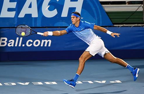 Делрей-Бич (ATP). Куэрри и Дель Потро поспорят за выход в финал