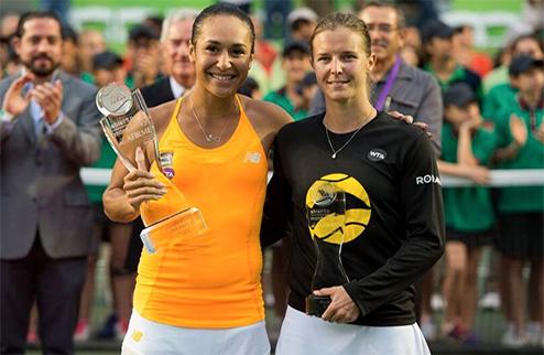 Монтеррей (WTA). Уотсон — победительница турнира