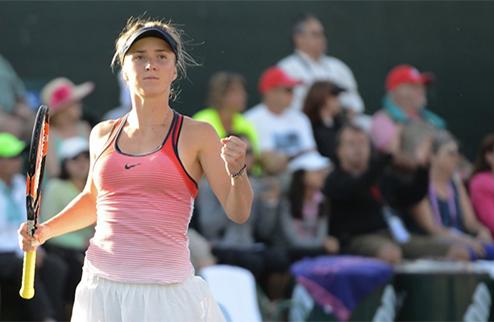 Индиан-Уэллс (WTA). Свитолина — Винчи. ВИДЕО