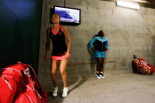 Индиан-Уэллс (WTA). Уильямс — Бондаренко. ВИДЕО