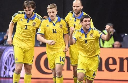 Футзал. Обзор матча Словакия — Украина 0:6. ВИДЕО