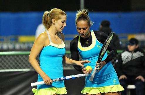 Майами (WTA). Бондаренко и Савчук в парном четвертьфинале